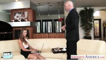 Riche Babe Jillian Janson Putain