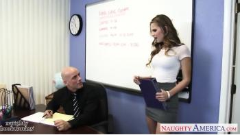 Slim Geek Jillian Janson Putain